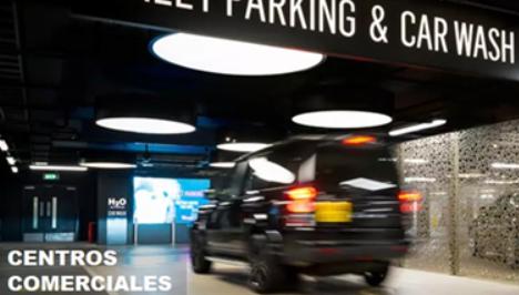 Centro comercial parking